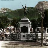 Първоначалният паметник на Христо Ботьов