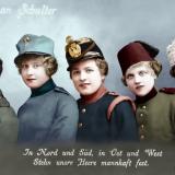 Пропагандна картичка на Централните сили