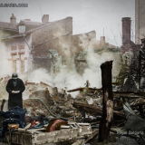 Бомбардирана София