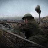 Британски войници на Македонския фронт