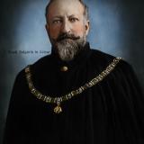 Цар Фердинанд I с Ордена на Златното руно