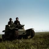 Българска танкета L3/33 в Добруджа