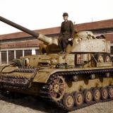 """Войник върху бойна кола """"Майбах Т-IV"""""""