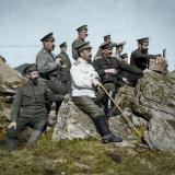 Български офицери на наблюдение
