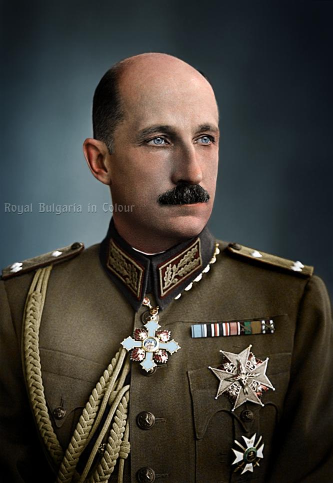 Цар Борис III | Royal Bulgaria in Colour | Царство България въ цвѣтъ