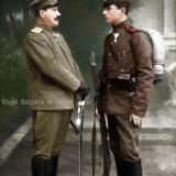 Генерал Кантарджиев със сина си Асен