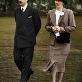 Царят и Царицата в Лондон