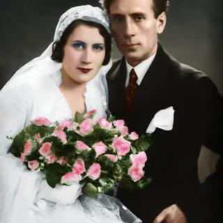 Райко Алексиев със съпругата си