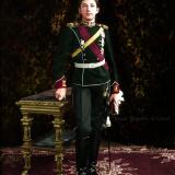 Княз Борис Търновски като кавалерист