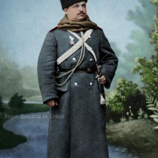 Константин Стоилов в кавалерията