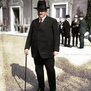 Александър Стамболийски в Генуа