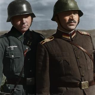 Немски и български войник