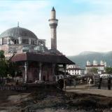 """Изглед към Джамията и черквата """"Св.Крал"""""""