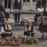 Селянки на пазара в София
