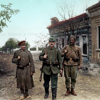 Централните сили в Румъния