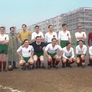 Българските национали в Прага – 1938